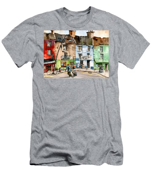 Ok Wheres The Party. Clifden, Galway. Men's T-Shirt (Athletic Fit)