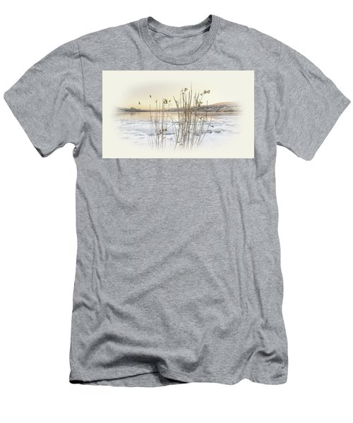 Men's T-Shirt (Slim Fit) featuring the photograph Okanagan Glod by John Poon