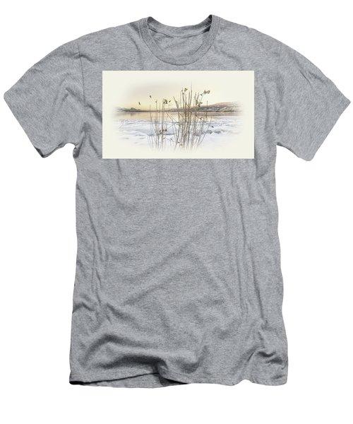 Men's T-Shirt (Slim Fit) featuring the photograph Okanagan Glod by John Poon