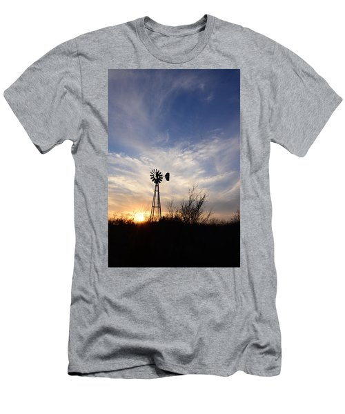 Oklahoma Skies Men's T-Shirt (Athletic Fit)