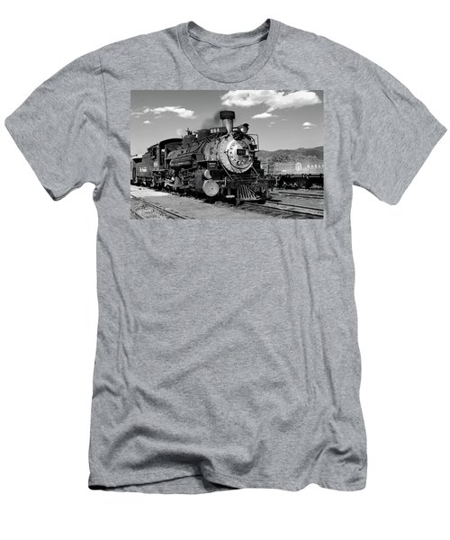 Men's T-Shirt (Athletic Fit) featuring the photograph Old 484 I by Ron Cline