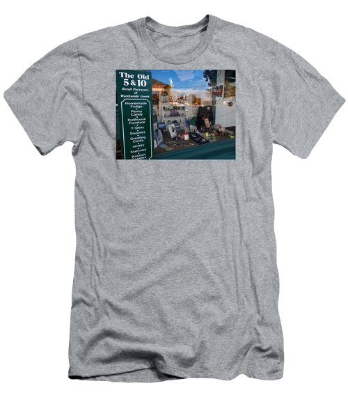 Old 5 And 10 North Conway Men's T-Shirt (Slim Fit) by Nancy De Flon
