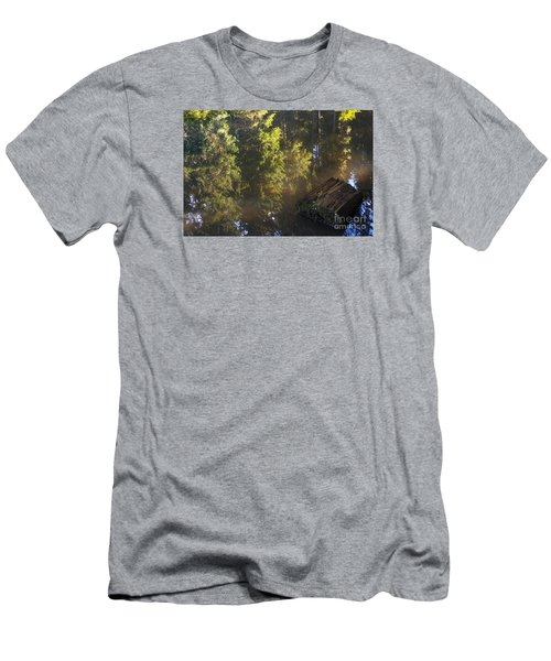 Old And New Life Men's T-Shirt (Slim Fit) by Yuri Santin