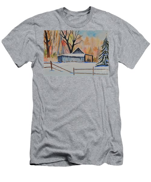 Old Barn II Men's T-Shirt (Athletic Fit)