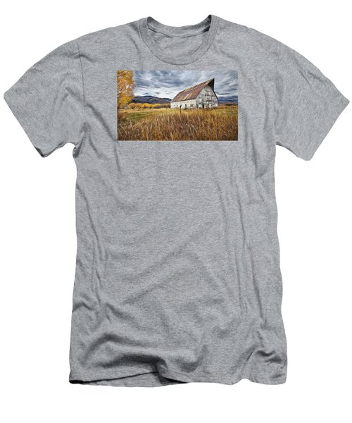 Old Barn In Steamboat,co Men's T-Shirt (Athletic Fit)