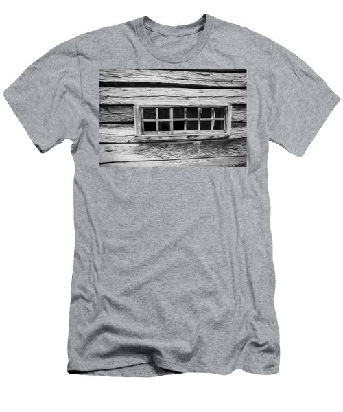 Old Cabin Window Men's T-Shirt (Athletic Fit)