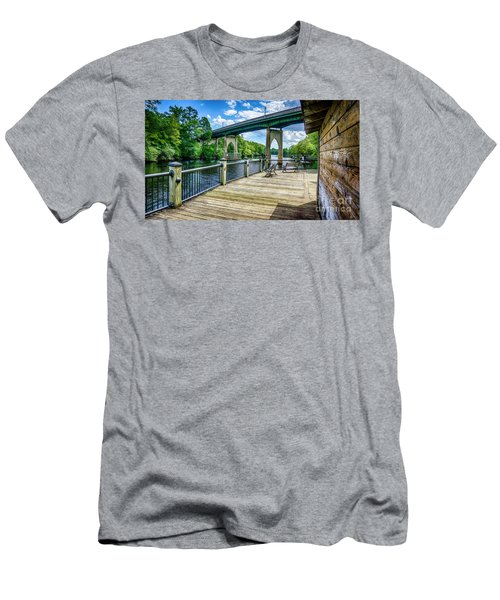 Old Conway Bridge Men's T-Shirt (Athletic Fit)