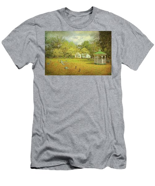 Men's T-Shirt (Athletic Fit) featuring the photograph Old Country Church by Lewis Mann