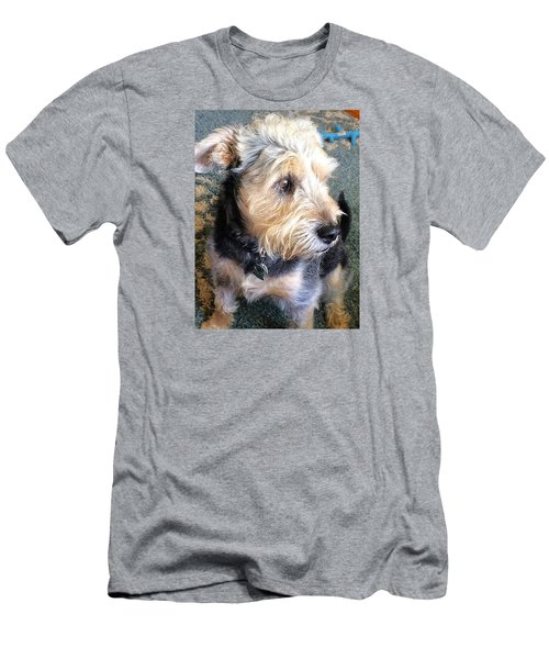 Old Dogs Rock Men's T-Shirt (Athletic Fit)