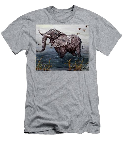 Old Elephant Men's T-Shirt (Athletic Fit)