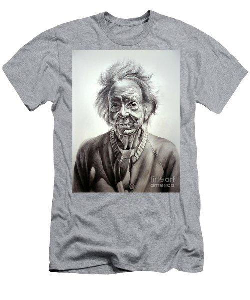 Old Farm Lady Men's T-Shirt (Athletic Fit)