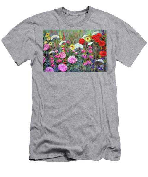 Old Fashioned Garden Men's T-Shirt (Athletic Fit)