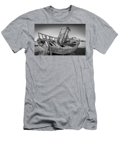 Old Fishing Boat. Men's T-Shirt (Athletic Fit)
