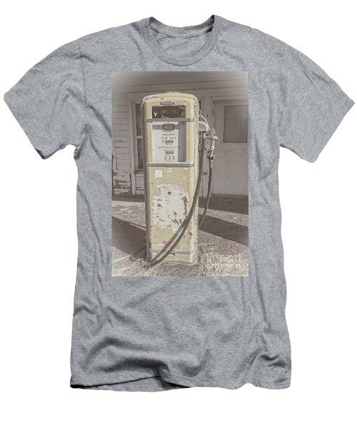 Old Gas Pump Men's T-Shirt (Slim Fit) by Robert Bales