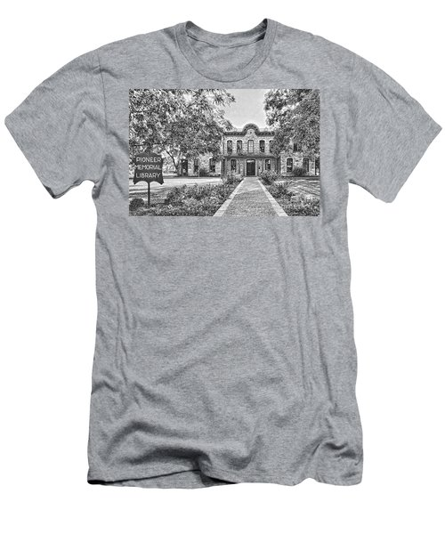 Old Gillespie County Courthouse Men's T-Shirt (Athletic Fit)