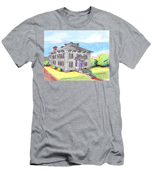 Old Hunt Hospital Men's T-Shirt (Slim Fit) by Paul Meinerth