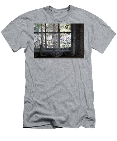 Old Lace And Old Times Men's T-Shirt (Slim Fit) by John Glass