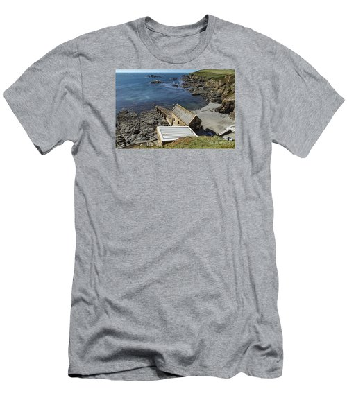 Old Lifeboat Station Men's T-Shirt (Slim Fit) by Brian Roscorla