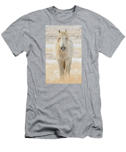 Old Man In Winter Men's T-Shirt (Athletic Fit)