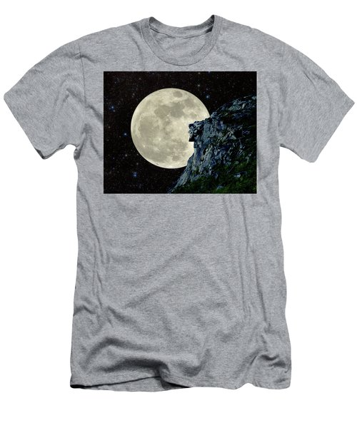 Old Man / Man In The Moon Men's T-Shirt (Athletic Fit)