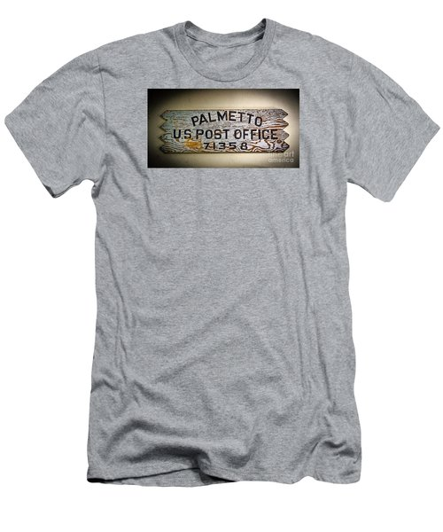 Old Palmetto Sign Men's T-Shirt (Athletic Fit)