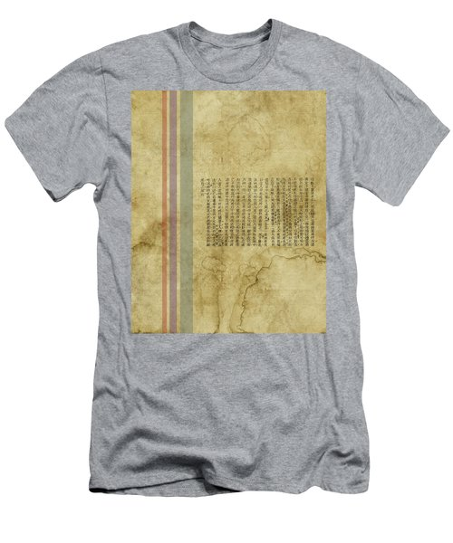 Old Paper Men's T-Shirt (Slim Fit) by Thomas M Pikolin