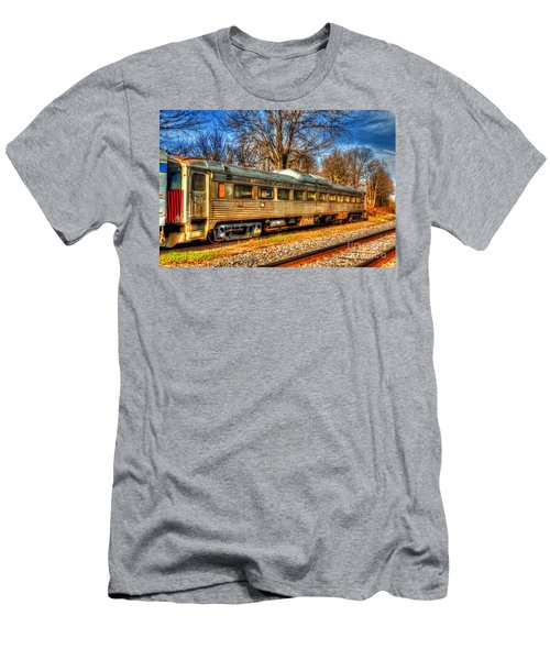 Old Rail Car Men's T-Shirt (Athletic Fit)