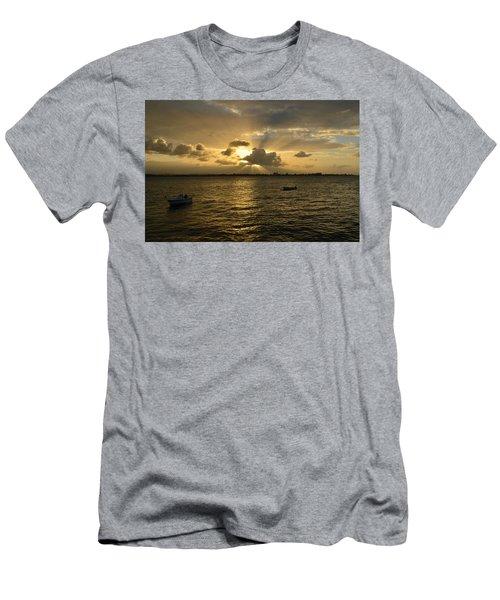 Men's T-Shirt (Athletic Fit) featuring the photograph Old San Juan 3772 by Ricardo J Ruiz de Porras