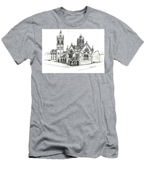 Old South Church - Bosotn Men's T-Shirt (Slim Fit) by Paul Meinerth