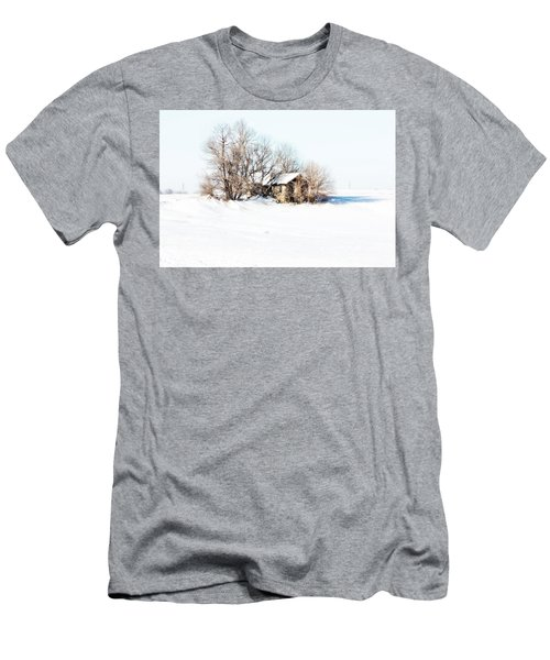 Old  Stone House Milford Men's T-Shirt (Slim Fit) by Julie Hamilton