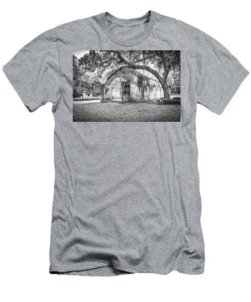 Old Tabby Church Men's T-Shirt (Athletic Fit)