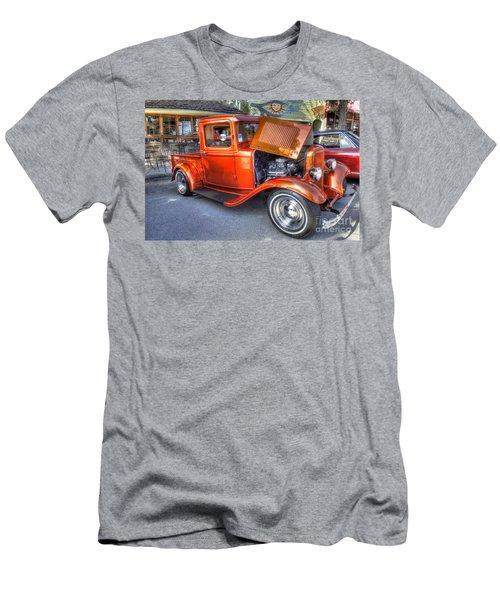 Old Timer Orange Truck Men's T-Shirt (Athletic Fit)