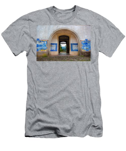 Old Train Station Men's T-Shirt (Athletic Fit)