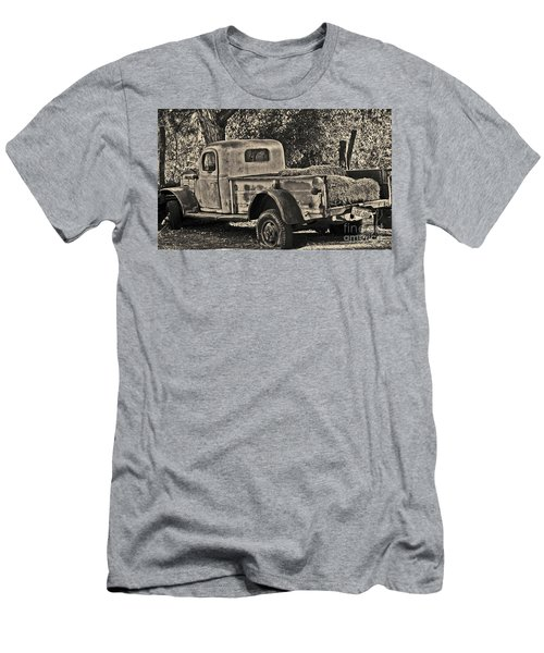 Men's T-Shirt (Athletic Fit) featuring the photograph Old Truck by Frank Stallone