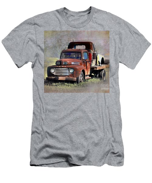 Men's T-Shirt (Slim Fit) featuring the photograph Old Trucks by Savannah Gibbs