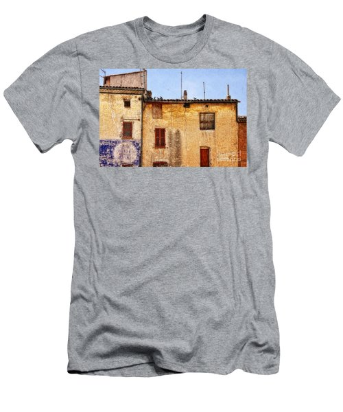 Old Walls In Provence Men's T-Shirt (Athletic Fit)