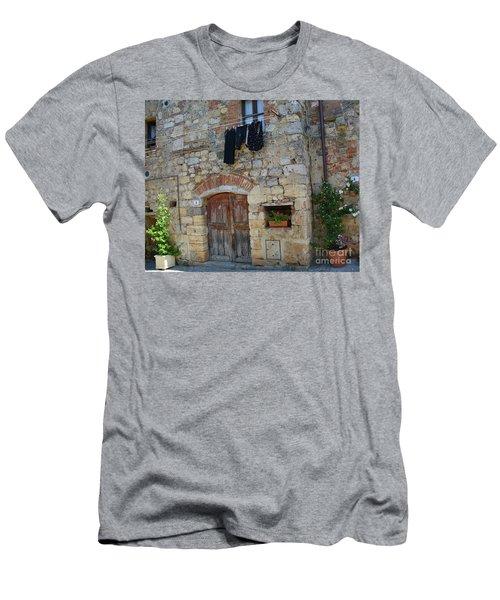 Old World Door Men's T-Shirt (Athletic Fit)