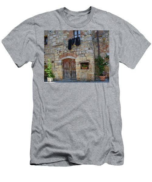 Old World Door Men's T-Shirt (Athletic Fit)