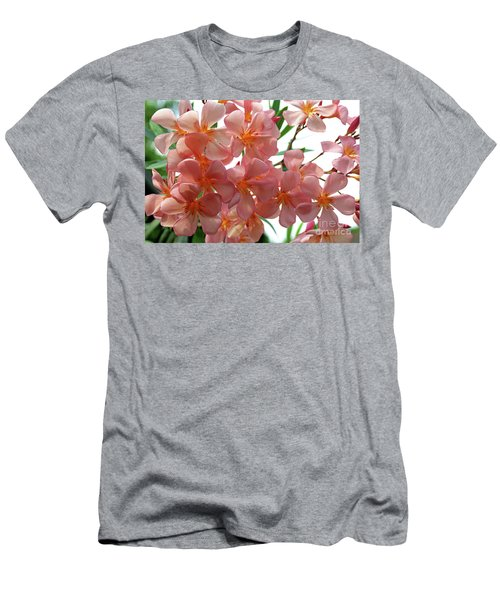 Men's T-Shirt (Slim Fit) featuring the photograph Oleander Dr. Ragioneri 4 by Wilhelm Hufnagl