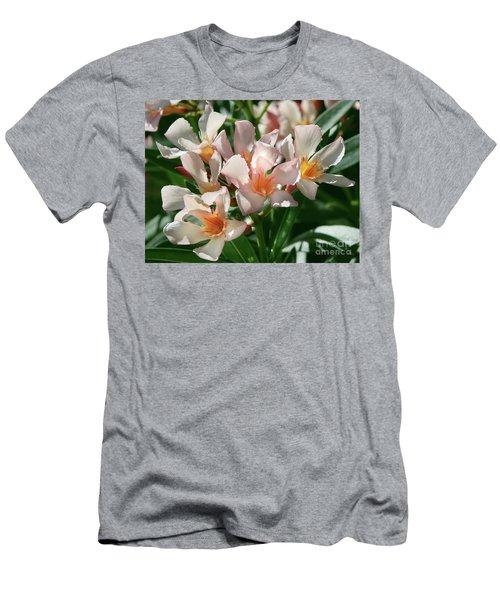 Oleander Petite Salmon 1 Men's T-Shirt (Athletic Fit)