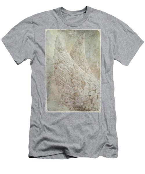On Angels Wings 2 Men's T-Shirt (Athletic Fit)