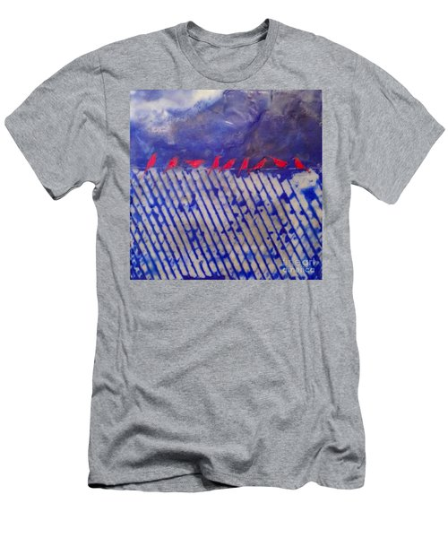 On The Fence Men's T-Shirt (Athletic Fit)