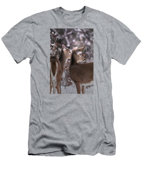 On The Look Out Men's T-Shirt (Slim Fit) by Loni Collins