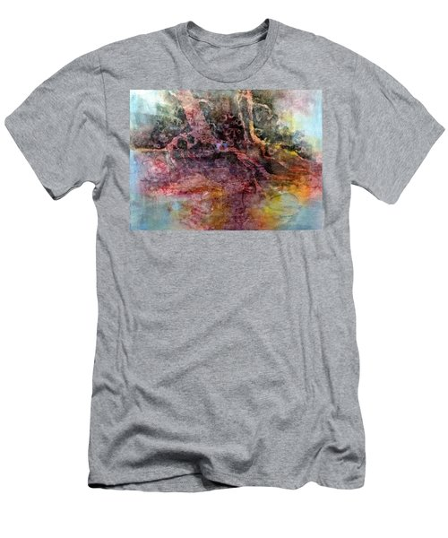 On The Peninsula Men's T-Shirt (Slim Fit) by Carolyn Rosenberger