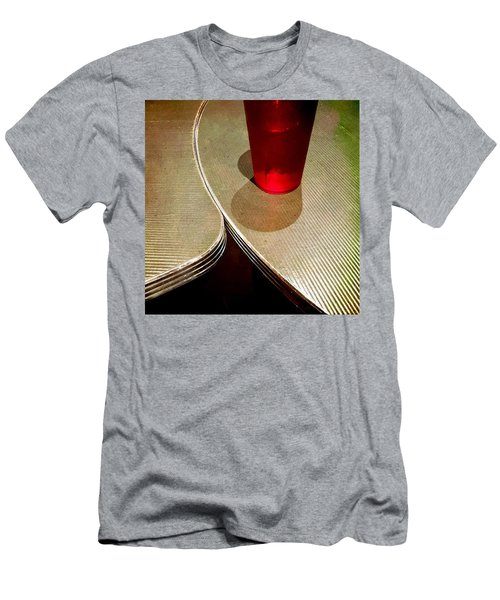 On The Right. #redglass #tables Men's T-Shirt (Athletic Fit)