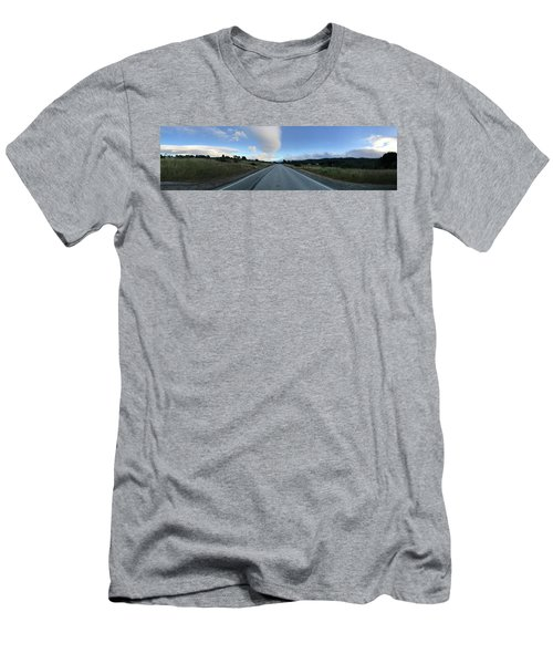 On The Road Men's T-Shirt (Slim Fit) by Alex King