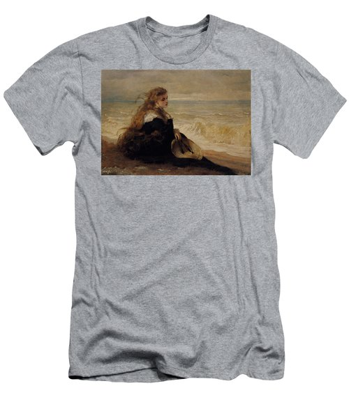 On The Seashore Men's T-Shirt (Athletic Fit)