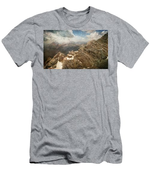 On The Top Of The Mountain  Men's T-Shirt (Athletic Fit)
