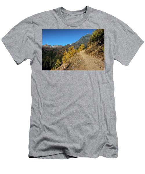 On The Way To Clear Lake In Co - 0056 Men's T-Shirt (Athletic Fit)