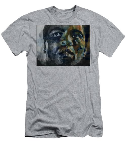 Men's T-Shirt (Slim Fit) featuring the painting One Of A Kind  by Paul Lovering